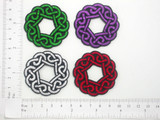 Celtic Knot - Button Hole Patch Iron On Patch Applique
