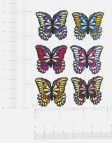 "Butterfly Azzi 1 1/4"" *Colors*"