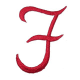 Script Red Letter F