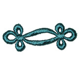 Venise Lace Frogs - Teal 24 Pack