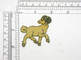 Zodiac Aries Ram Applique Embroidered Iron On Patch