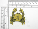 Zodiac Cancer Applique Crab Embroidered Iron On Patch