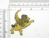 """Zodiac Leo Applique Lion Embroidered Iron On Patch 2 1/4"""" x 2 1/4"""""""