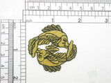 Zodiac Pisces Applique Embroidered Iron On Patch