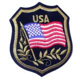 USA Flag Crest