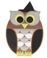 """Owl Patch 12"""" Iron On Patch Applique"""