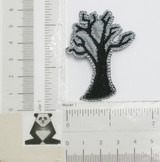 Spooky Halloween Tree Iron On Patch Applique