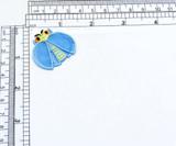 LadyBug Layered Wing Bug Iron On Applique