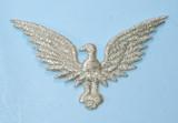 "Eagle Metallic Silver 2"""