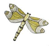 Dragonfly Metallic Silver & Gold
