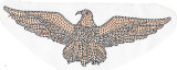 Rhinestone Applique - Fire Bird