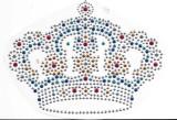 Rhinestud Applique - Crown