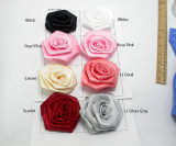 "Flat Ribbon Rose - 3 1/2""(89mm) Wide Approx"