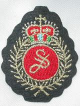 Crest with Laurel & Crown