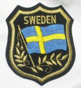 SWEDEN Flag Crest
