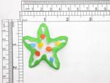 Starfish Multi Embroidered Iron On Applique