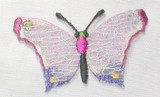 Butterfly Web Sparkle Lilac