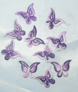 Butterfly Purple & Pink Varigated Mini 10 Pack