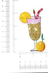 Lemonade Cocktail Drink Sequined