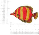 Marine Fish Yellow & Red