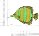Marine Fish Yellow & Green