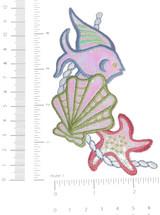 Marine Fish Opalescent Trio