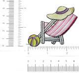 Beach Chair Hat & Ball