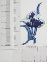 Blue Flower Spray.