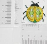 Ladybug Medium Sparkle Yellow