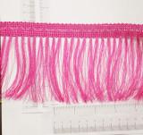 "Fringe 4"" Hot Pink Priced Per Yard"