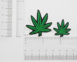 Marijuana Pot Leaf *Sizes* Iron On Patch Applique