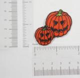 Pumpkin Heads Jack O Lantern Pair
