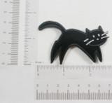 Black Cat Leaping