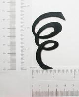 Decorative Ringlet Swirl Black