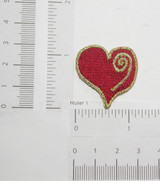 Club Poker Card Suit Embroidered Iron On Patch Applique