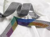 """Jacquard Ribbon 2"""" Monochrome Fun (TJR1003)"""