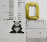"Letter O 1"" Metallic Gold"