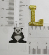 "Letter L 1"" Metallic Gold"