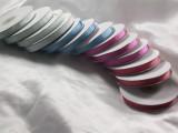 "Grosgrain Ribbon 3/8"" Striped *Colors* 25 Yard Roll"