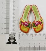 Beach Sandals Flip Flops Floral