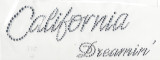 Rhinestud Applique - California Dreamin'