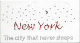 Rhinestud Applique - New York The City That Never Sleeps