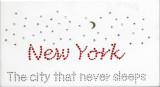 Rhinestud Applique - New York The City That Never Sleeps