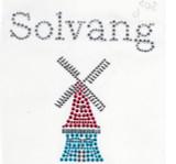 Rhinestud Applique - Solvang