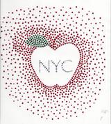 Rhinestud Applique - New York City NYC Apple