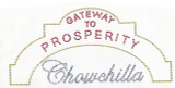Rhinestud Applique - Gateway to Prosperity Chowchilla