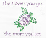 """Turtle Stud Applique Iron On   Colors - green purple    Measures 8 1/2"""" wide x 7 1/4"""" high  (216mm x 184mm)      Iron On or Heat Transfer      Item Pic is Scanned for accuracy, the studs and stones are much more vibrant to naked eye"""