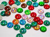 Hot Fix Stud - Cabochon Epoxy Circle 10mm *Colors* 50 piece pack apx