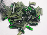 Hot Fix Stud - Cabochon Epoxy Rectangle 10mm x 3mm *Colors* 100 piece pack apx