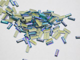 Hot Fix Stud - Rectangle Faceted 7mm x 2.5mm *Colors* 144 piece pack apx